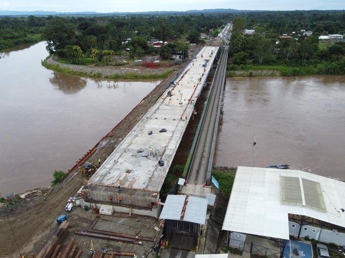 New Sixaola binational bridge works advancing
