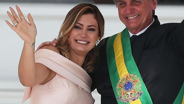 Brazil's first lady tests positive for Covid-19