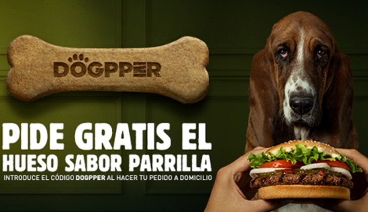 Burger King Costa Rica has gone to the dogs