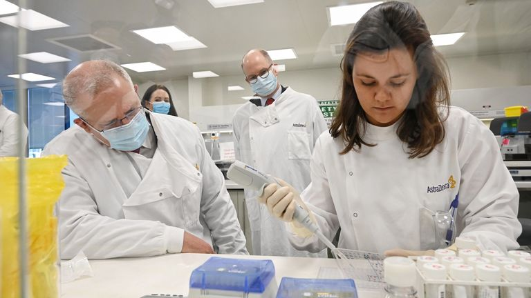 Australia secures deal for potential Covid-19 vaccine, will provide it free to all citizens