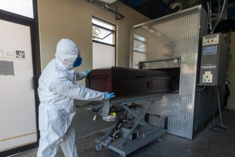 Funeral homes in times of pandemic: the painful challenge of the last goodbye to the COVID-19 deceased