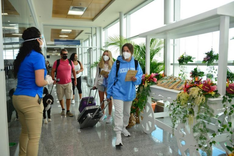 Liberia airport restarts operations after months of closure