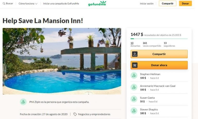 The Nerve: hotel where María Luisa Cedeño was murdered asks for money online