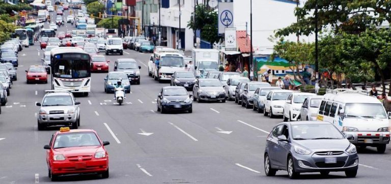 Change in restrictions increased number of cars on the streets