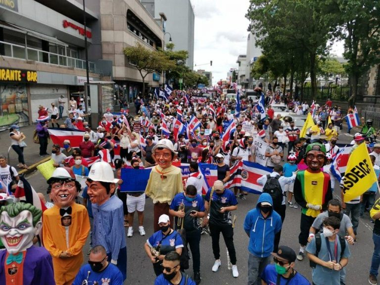 Costa Rica's Powerful Unions to Take To The Streets Against IMF Bill