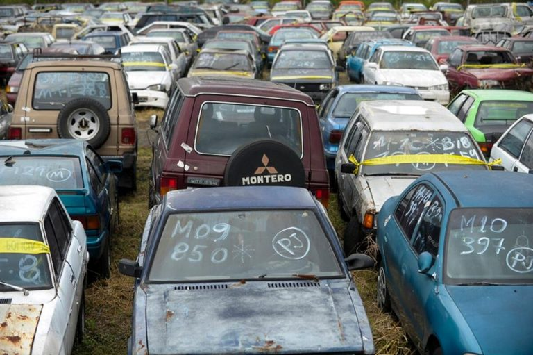 The State spends ¢1 billion a year to look after unclaimed vehicles