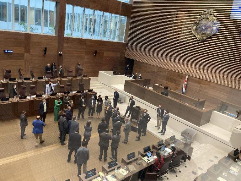 Costa Rica's new Congress building becomes a 'super spreader'
