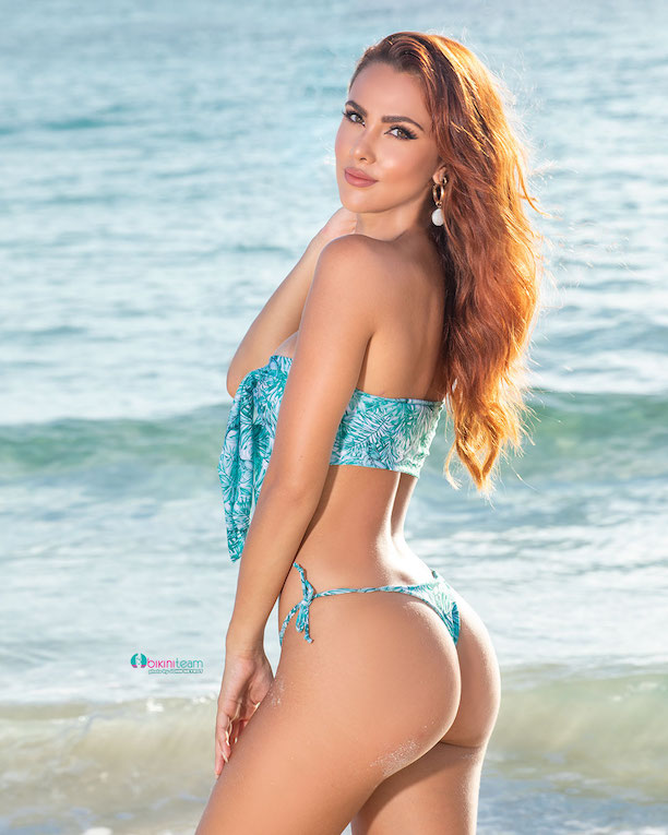 Costa Rica model chosen Bikini Team model of the month