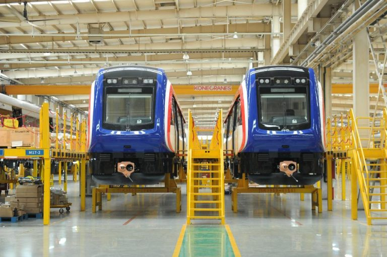 New Incofer trains on their way to Costa Rica