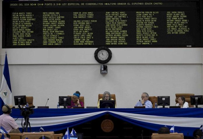"""""""Gag Law"""" approved by Ortega will enter into force in 60 days"""
