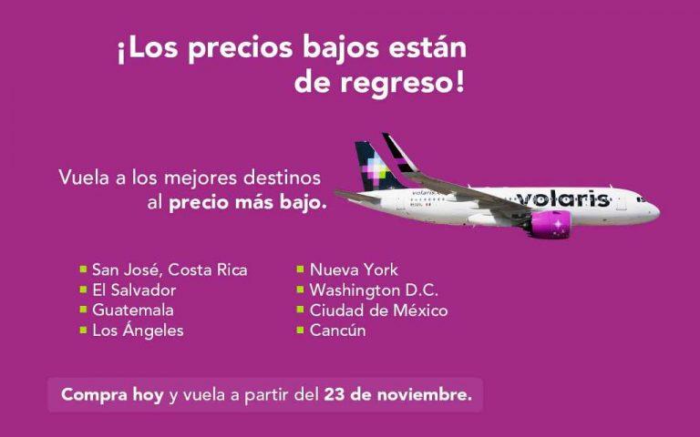 It's official: Volaris will resume flights in Costa Rica