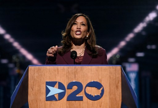 """Epsy Campbell congratulates Kamala Harris and notes that """"she"""" was the first black woman vice president"""