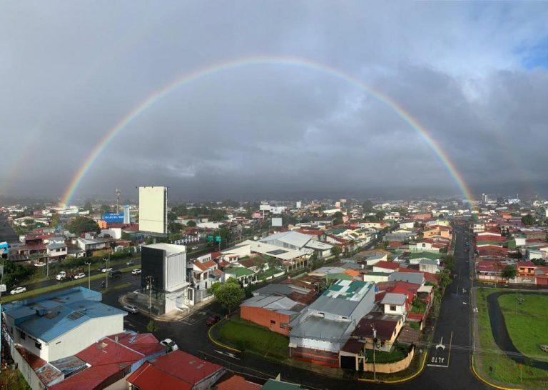 Rainbow over San Jose