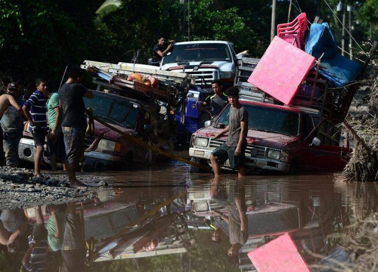 Hurricane Iota moves towards a devastated Central America