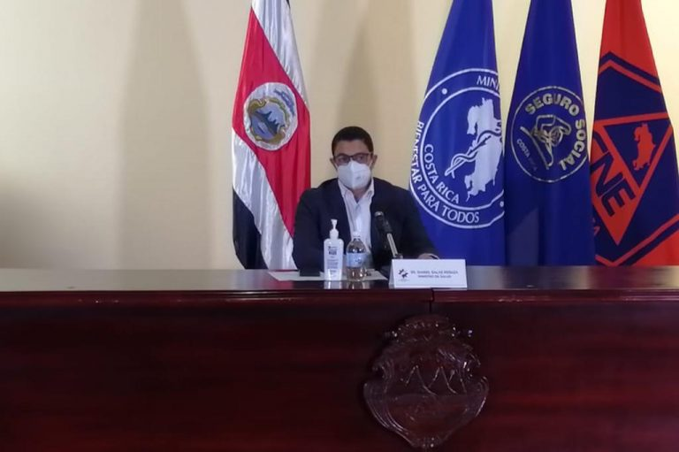 Covid-19 in Costa Rica: 1,187 new cases for Friday; concern for rise in hospitalizations