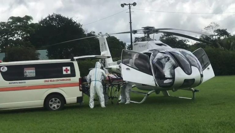 Critically ill Covid-19 patients will be transferred to San Jose hospitals by air