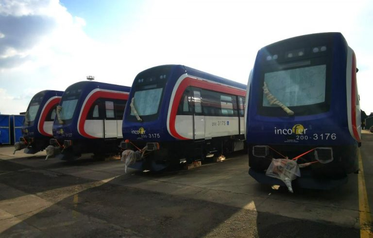 Second batch of new trains on their way to Costa Rica from China (Photos)