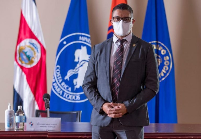 Costa Rica Persons of the year: Health Minister Daniel Salas who longs for the end of the pandemic to hug his mother
