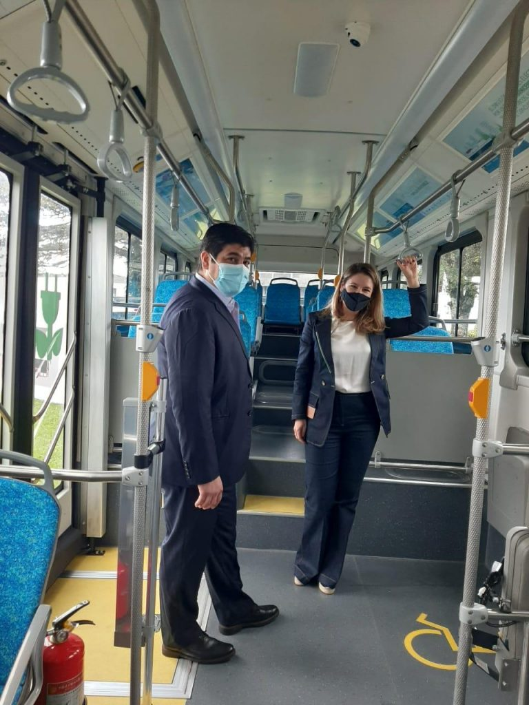 First electric buses in Costa Rica ready to roll