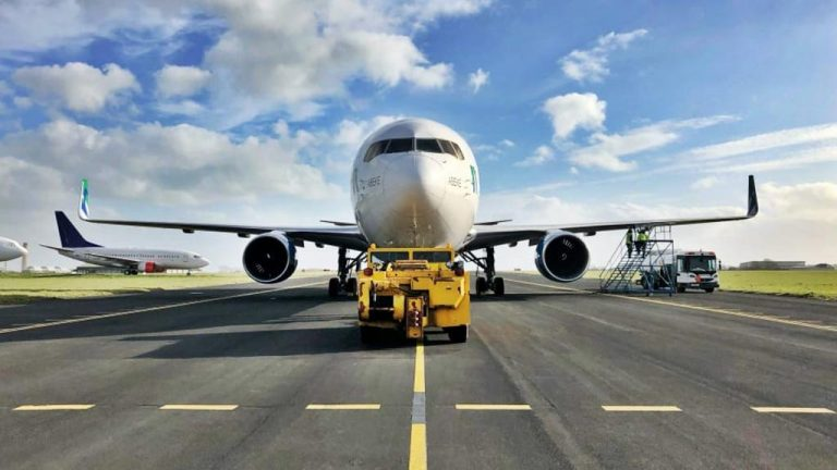 The global airline with no passengers, no cargo and flies just one way
