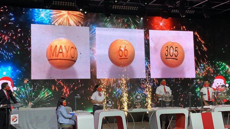 66 with the 305 series is the 2020 Gordo Navideño winner!