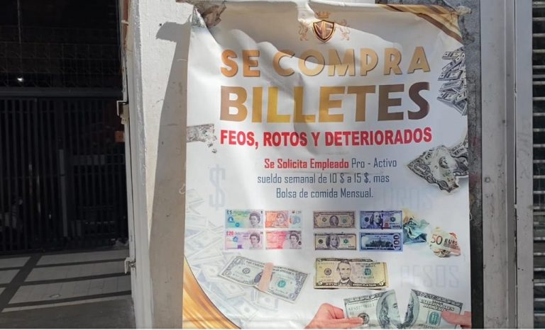 Purchase of Damaged Dollar Bills Is the Latest Unusual Business in Venezuela