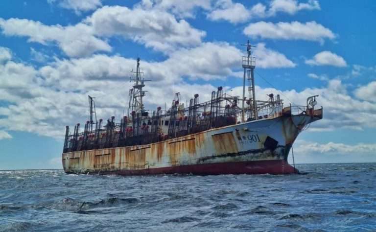 Chinese Pirate Ships Threaten Argentine Waters