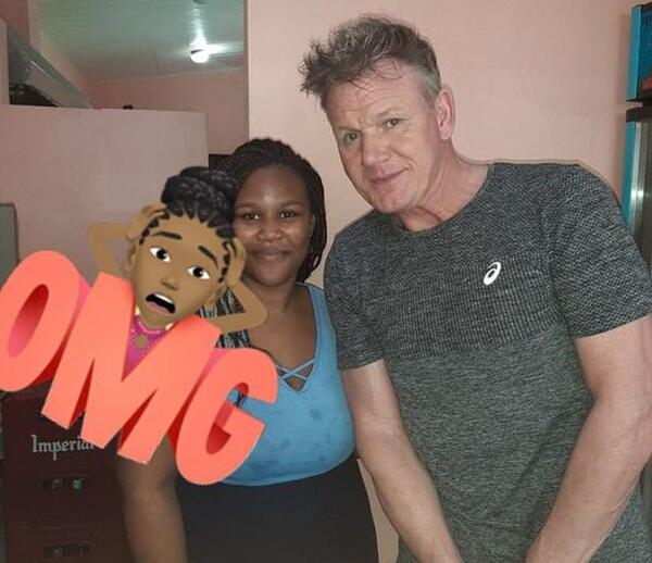 Gordon Ramsay in Costa Rica: famous chef walks in Limón and tasted the spoon of a Caribbean soda