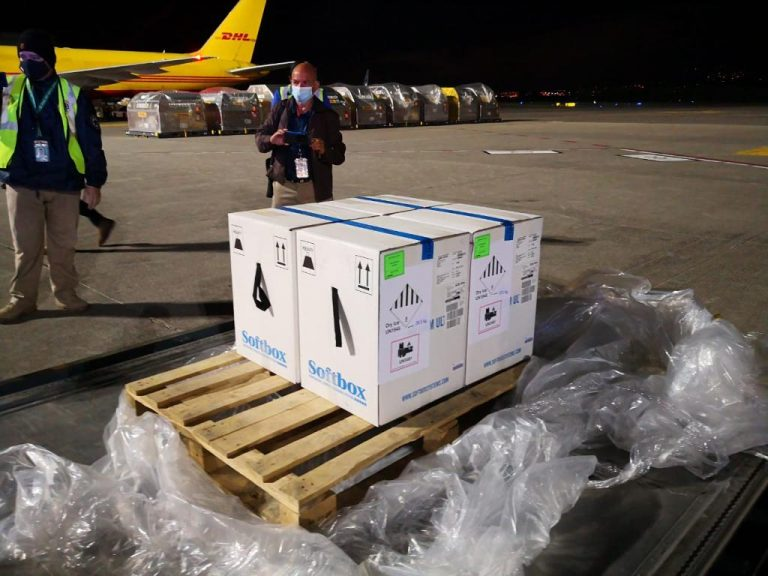 Costa Rica receives third batch of 33,150 vaccines against covid-19
