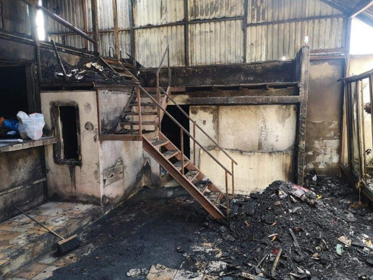 ESPH charges the family for electricity for January and February even though fire destroyed their home in December