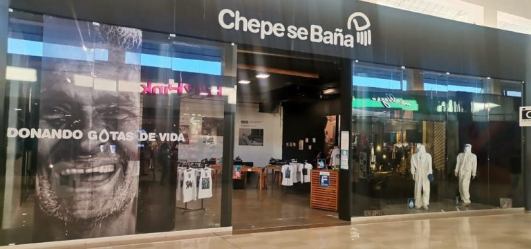 The Multiplaza Escazu store that sells nothing but helps in a big way
