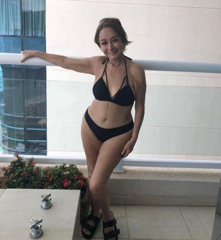 """La Chilindrina"" at 70 in a bikini shocked the social networks"