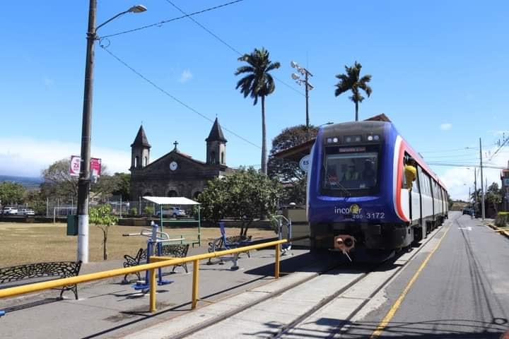 New commuter train in speed trials