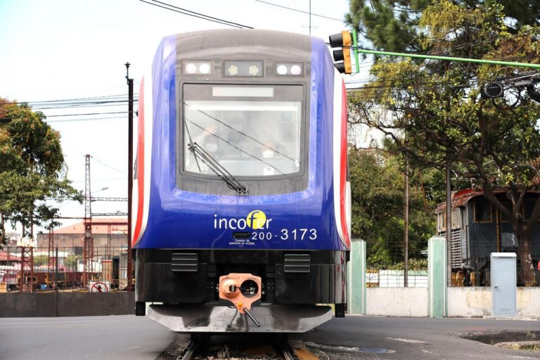 New commuter trains hit the tracks (Photos)