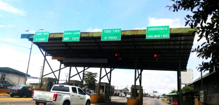 General Cañas tolls will remain despite the congestion
