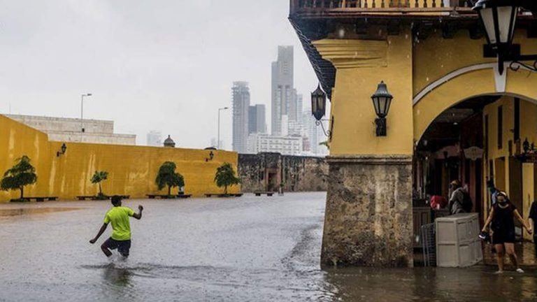 Alert in Colombia due to the start of the first rainy season