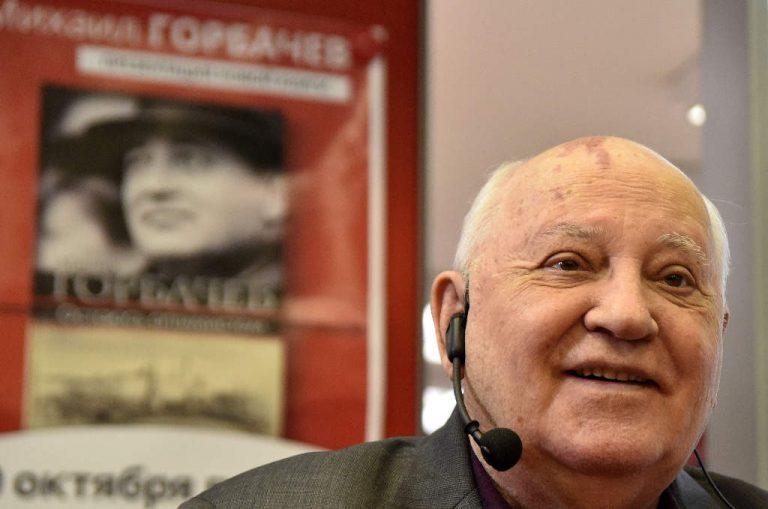 Former Soviet leader Mikhail Gorbachev celebrates his 90th birthday