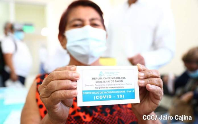 Nicaragua begins vaccination against covid-19 in people with chronic diseases