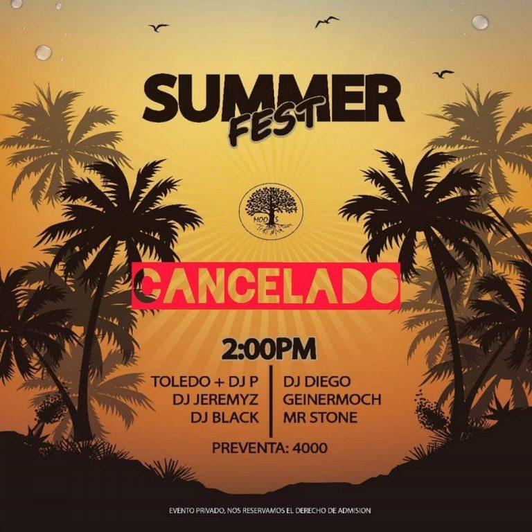 Organizer of 'Summer Fest' in Cartago affirms cancelation of event