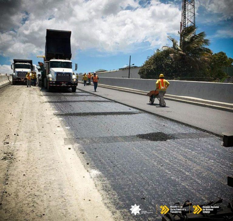 Work on the Circulavacion Norte Resumes