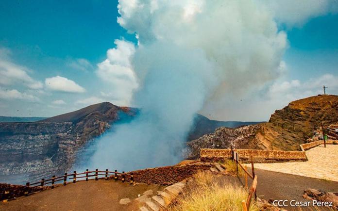 Seismic activity in the surroundings of the Masaya Volcano