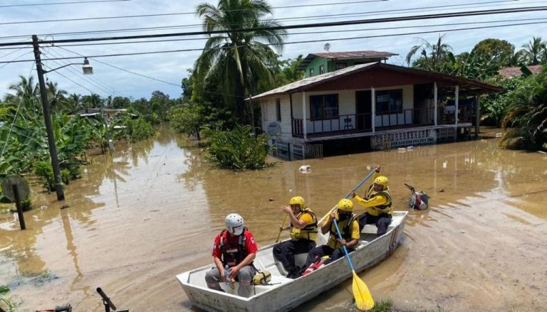 Downpours Continue In the Caribbean