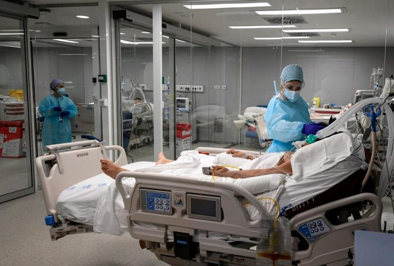 66% of ICU patients are under 60 years of age