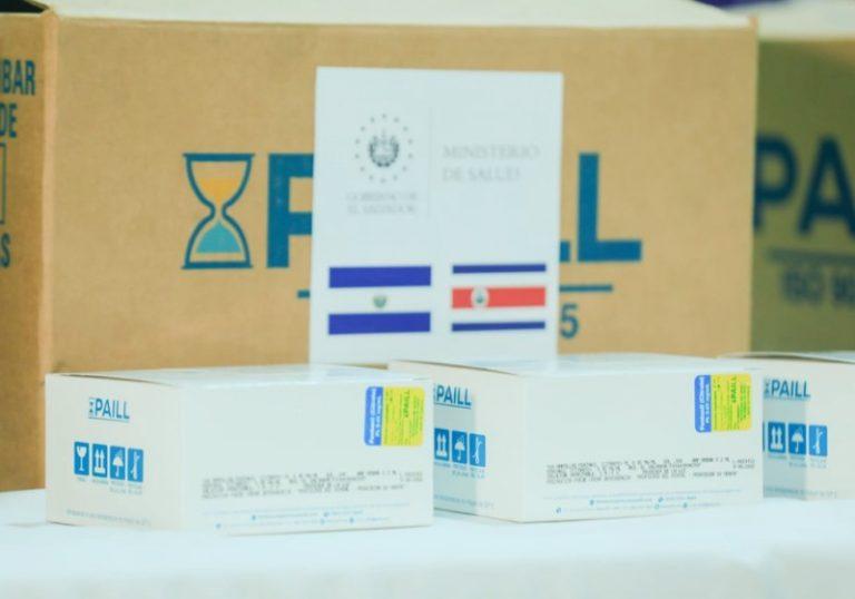 CCSS receives donation of 10,000 vials of fentanyl from El Salvador