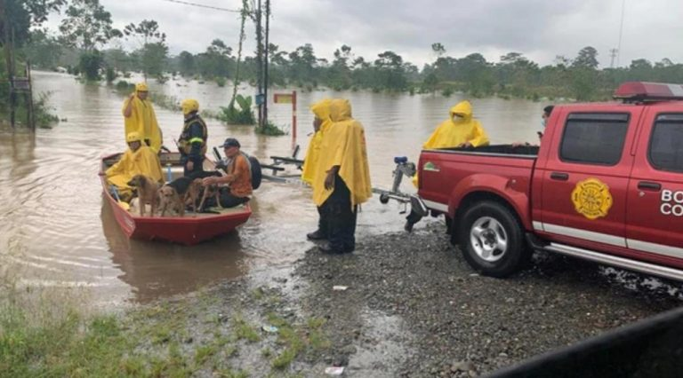 Storm forces evacuations, flooding and emergency calls and more than 120 incidents in Caribbean and Central Valley