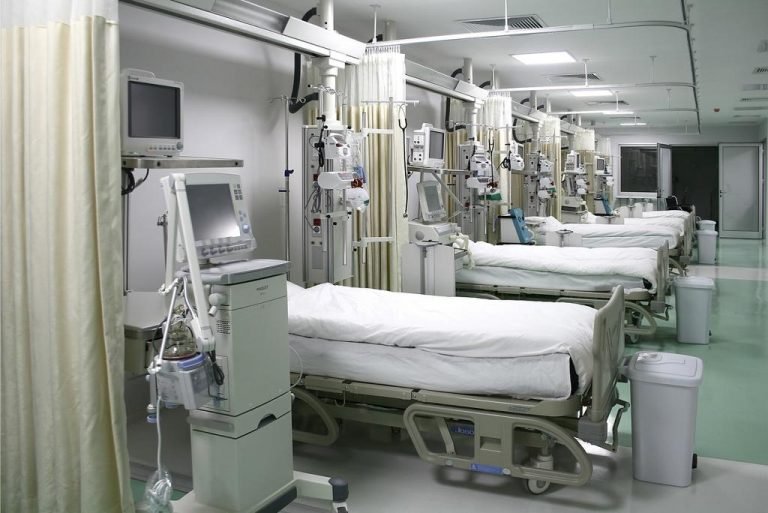 Four hospitals run out of ICU beds for covid-19 critically ill patients