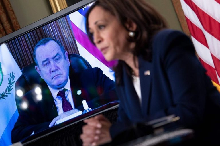 Kamala Harris will visit Central America in June and promises more help to immigration