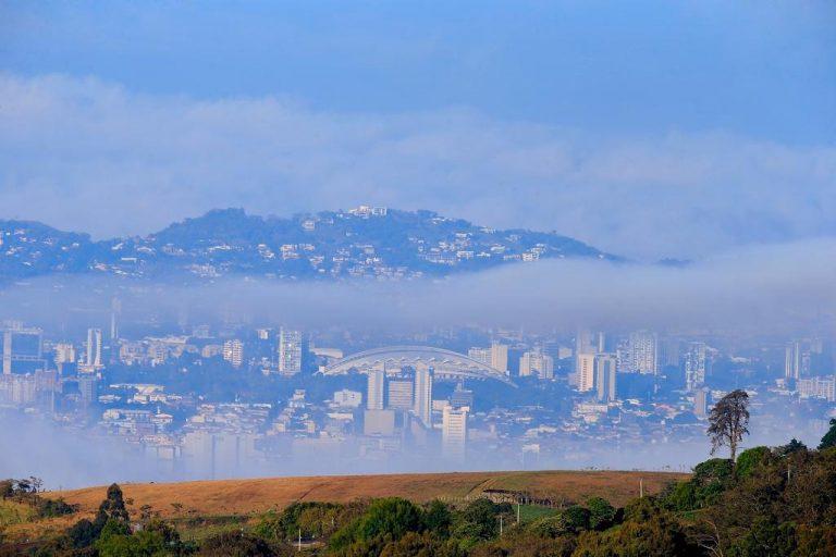 San Jose as seen from Cartago