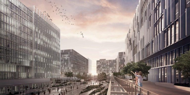 """""""Ciudad Gobierno"""" would give a new face to capital with a gigantic complex of buildings"""