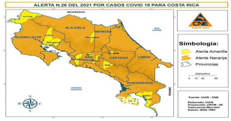 72 cantons on orange alert due to high risk of COVID-19 contagion